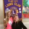Queen Drew Knotts & Lions Club Auxiliary President, Jean Ann Davenport