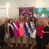 Queen Drew Knotts & Her Court Visit The Plant City Lions Club